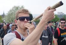 Эксклюзивный фотоотчет: Million Marihuana March 2013, CZ