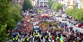 Тысячи людей посетили МММ 2014 в Праге